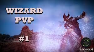 black desert online wizard 61 pvp 1 youtube