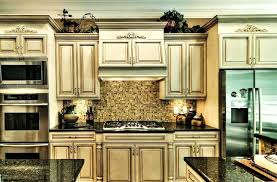 antique glazed kitchen cabinets painted and glazed kitchen cabinet