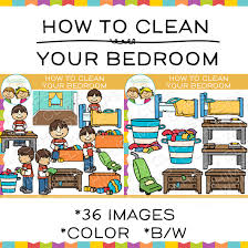 how to clean a bedroom how to clean your bedroom sequencing clip art images