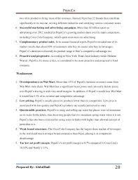 Landscaping Resume Samples by Pepsico Full Report