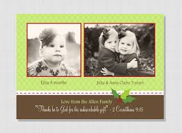 holly berry christmas card with scripture verse