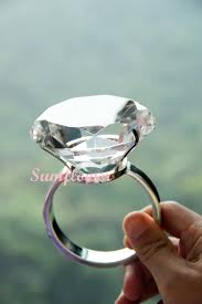 plastic wedding rings big plastic diamond ring diamond diameter 8 cm 超大粒仿鑽石戒指