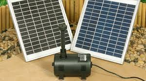 Solar Lights For Ponds by Solar Powered Water Fountains For Outdoor Garden Lights Pumps