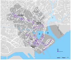 central area upn map