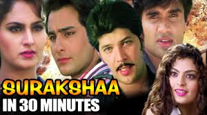 surakshaa in 30 minutes saif ali khan sheeba suniel shetty