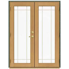 Patio Doors Wooden Wood Patio Doors Exterior Doors The Home Depot