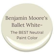 best neutral colors benjamin moore s ballet white the best neutral color newton