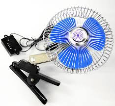 12 volt clip on fan e2c 6 12 volt car fan truck fan with clip cigarette lighter