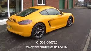 porsche cayman 3 4 sold 2015 porsche cayman 3 4 gts pdk for sale in louth