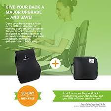 si e voiture ergonomique coussin lombaire thérapeutique pour posture oreiller ergonomique