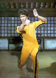 bruce yellow jumpsuit tracksuit yellow jumpsuit sports jacket apparel kung fu