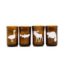 canadian animals set of 4 artech studios