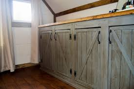 Do It Yourself Cabinet Doors Scrapped The Sliding Barn Doors Rustic Cabinet Doors Instead Do