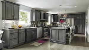 Espresso Kitchen Cabinets With Granite Red Oak Wood Espresso Prestige Door Gray Stained Kitchen Cabinets