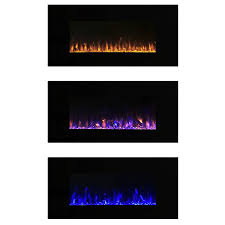 Wall Mounted Electric Fireplace Heater Amazon Com Electric Fireplace Wall Mounted Led Fire And Ice
