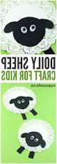 hd doily sheep craft art for kids file free