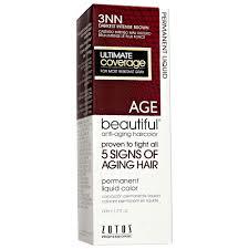 agebeautiful anti aging permanent liquid hair color nn shades