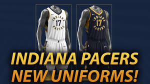 jersey design indiana pacers indiana pacers rebrand reaction new uniforms youtube