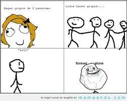 Memes Para Facebook En Espa Ol - memes y chistes de forever alone imagenes chistosas