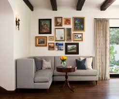 cool picture collage ideas living room traditional with mismatched