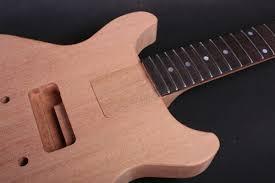 electric guitar kit les paul jr double cut guitar bodies and