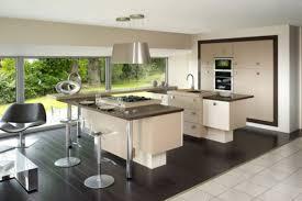 cuisine avec ilot central et table enchanteur modele cuisine avec ilot central table et cuisine ikea