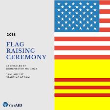 Ceremony Flag Flag Raising Ceremony 2018 U2013 Vietaid