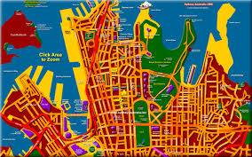 sydney australia map sydney map and australia tourist maps