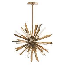 18 Light Starburst Chandelier Arteriors Home Waldorf 8 Light Sputnik Chandelier U0026 Reviews Wayfair