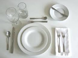 simple table setting table setting simple lemondededom com