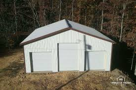 Garage House Kits Easy Assemble Diy Metal Garage Or Shop Miracle Truss
