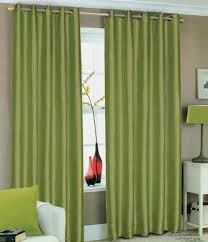 Eyelet Curtains 90 X 72 Green Faux Silk Lined Curtains With Eyelet Ring Top 90 X 90 By