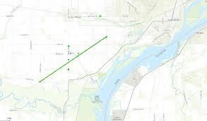3m Center Map Damage Surveys March 6 2017