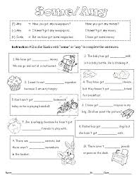 some any with countable and uncountable nouns worksheet
