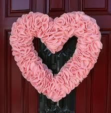 valentines wreaths 10 diy s day wreaths you ll babble