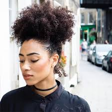 how to grow afro hair on the top while shaving the sides see this instagram photo by freshlengths curly puff afro puff