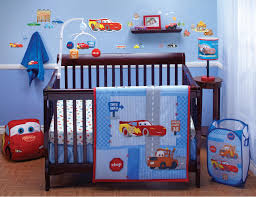 Crib Bedding Sets by Disney Crib Bedding Set Cars Little Racer 4 Piece