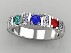design a mothers ring sterling silver marquise birthstone ribbon ring with names