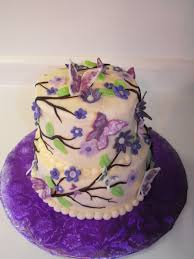 butterfly and flowers cake cakecentral com