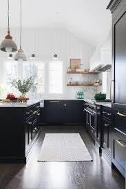 kitchen wall paint colors with black cabinets the best black paint for kitchen cabinets apartment therapy
