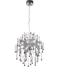 Elegant Lighting Chandelier Elegant Lighting 2075d24c Rc Astro 12 Light 24 Inch Chrome Dining