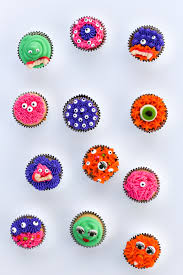 Monster Halloween Cupcakes Diy Halloween Monster Cupcakes Salty Canary