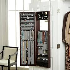 jewlery armoire mirror best ideas of behind door mirror over the door jewelry armoire