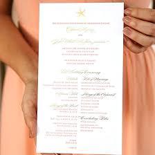 create a wedding program wedding program gallery weddinggawker