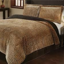 home decor bed sheets cheetah print ultra soft mini comforter set