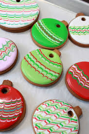 marbled ornament cookies sweetopia