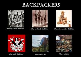 What My Friends Think I Do Meme - what my friends think i do what i actually do backpackers what my