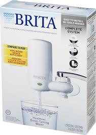 Brita Water Filter Faucet Adapter Brita On Tap Faucet Water Filter System Includes 1 System 2