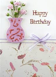 beautiful pink happy birthday flowers greeting card coloring pages