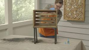 How To Build An End Table How To Make A Crate End Table Projects And Inspiration